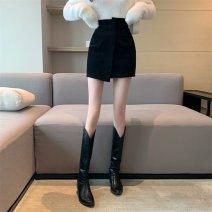 skirt Winter 2020 S,M,L Brown, black Short skirt 18-24 years old