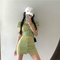 Dress Summer 2020 White, green, blue, black, pink Average size