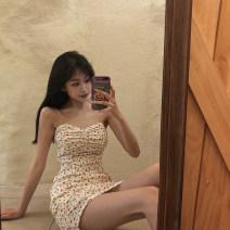 Dress Spring 2020 white S,M,L singleton  Sleeveless camisole