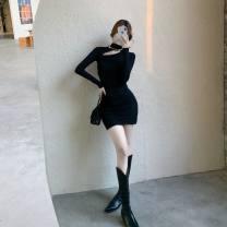 Dress Winter 2020 Pink, black Average size
