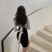 Fashion suit Autumn 2020 S. M, average size T-shirt, skirt