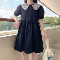 Dress Spring 2021 black Average size Middle-skirt 18-24 years old Amy it girl W702 More than 95% other Other 100% Pure e-commerce (online only)