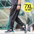 Casual pants Others Youth fashion Black [72177], black [72101], black [72102], black [72103], black [72105], black [72107] XL,2XL,3XL,4XL,5XL,6XL,7XL routine trousers motion easy Micro bomb XYS-72177 spring Large size Youthful vigor 2020 middle-waisted Little feet Sports pants printing washing other