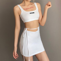 Casual suit Spring 2021 white S,M,L 18-25 years old K21S00225 sisterlinda 91% (inclusive) - 95% (inclusive) cotton
