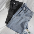 skirt Spring 2021 S,M,L,XL Blue, gray Short skirt Versatile High waist A-line skirt Solid color Type A 18-24 years old 81% (inclusive) - 90% (inclusive) Denim pocket
