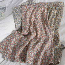 skirt Spring 2021 Average size 26 apricot , Coffee 27 , 28 black , 29 yellow , 30 Pink , 31 blue Mid length dress Versatile High waist High waist skirt Broken flowers Type A 18-24 years old 81% (inclusive) - 90% (inclusive) Chiffon printing