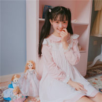 Fashion suit Autumn of 2019 Average size Two piece set 18-25 years old Other / other 30% and below cotton