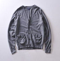 T-shirt / sweater Others other Dark blue, dark gray S,M,L Cardigan V-neck Long sleeves