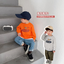 Sweater / sweater YUNERMA male 1y (80cm), 2Y (90cm) models try on, 3Y (100cm), 4Y (110cm), 5Y (120cm), 6y (130cm), 7Y (140cm) spring and autumn nothing leisure time Socket routine There are models in the real shooting cotton other Cotton 95% other 5%