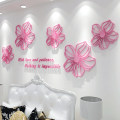 Wall stickers Acrylic large Three dimensional Wall Sticker Waterproof wall sticker set bedroom Others Plants and flowers Simple and modern Patience of love