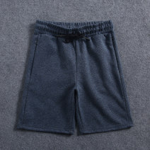 Casual pants Others Youth fashion Navy, grey XL,L,M,S,XXL,XXXL Shorts (up to knee) Other leisure Straight cylinder