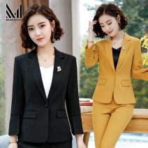 Hotel uniform Summer of 2019 S M L XL XXL XXXL 4XL 25-35 years old Muminol / mengmanu Polyester fiber 97.5% polyurethane elastic fiber (spandex) 2.5% Pure e-commerce (online only)