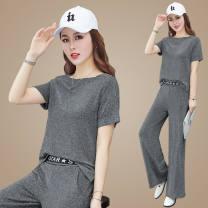 Fashion suit Summer 2020 M L XL XXL 3XL 4XL 25-35 years old Xia Dian Viscose fiber (viscose fiber) 63% polyamide fiber (nylon fiber) 30% polyurethane elastic fiber (spandex fiber) 7% Pure e-commerce (online only)