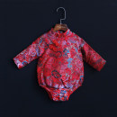 cheongsam gules Morning dance spring and autumn 3 months, 12 months, 6 months, 9 months, 18 months, 2 years old