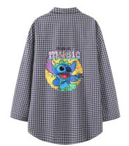 shirt lattice M,L,XL cotton 31% (inclusive) - 50% (inclusive) D814