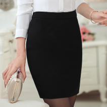 skirt Summer 2017 S M L XL XXL XXXL Black single skirt Middle-skirt Versatile Natural waist A-line skirt other Type A 25-29 years old 8659-02 More than 95% other Tina polyester fiber Polyester 96.3% polyurethane elastic fiber (spandex) 3.7% Pure e-commerce (online only)