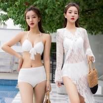Split swimsuit other Skirt split swimsuit Steel strap breast pad Others, polyester female