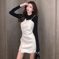 Fashion suit Winter 2020 S,M,L,XL Milky white, black 18-25 years old A1110