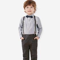 Children's dress grey male 90cm,100cm,110cm,120cm,130cm,140cm,150cm,160cm full dress Class A pure cotton Cotton 100% 7, 8, 3, 6, 2, 11, 5, 4, 10, 9, 12 Britain