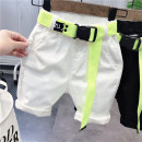 trousers Other / other male Black (belt) Cropped Trousers leisure time No model Jeans Cotton elastic denim Open crotch Other 100% Class B 18 months, 2 years old, 3 years old, 4 years old, 5 years old, 6 years old, 7 years old, 8 years old Chinese Mainland Zhejiang Province Hangzhou