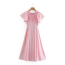 Dress Summer 2020 XS,S,M,L Mid length dress singleton  street 18-24 years old Europe and America