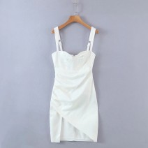 Dress Spring 2021 White as shown in the picture, black as shown in the picture S,M,L Short skirt singleton  street camisole 18-24 years old Europe and America