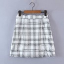 skirt Winter 2020 S,M,L As shown in the figure Short skirt street High waist 18-24 years old Europe and America