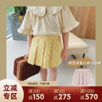 trousers UTOUTO female 80cm,90cm,100cm,110cm,120cm,130cm,140cm summer shorts There are models in the real shooting Casual pants middle-waisted 2 years old, 3 years old, 4 years old, 5 years old, 6 years old, 7 years old, 8 years old