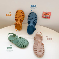 Sandals Other / other female other Blue, brown, bean green, blue pre-sale around mid April, brown pre-sale around mid April, pink pre-sale around mid April, bean green pre-sale around mid April summer Baotou other unlimited