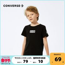 T-shirt Converse / converse 105cm 110cm 120cm 130cm 140cm 150cm 160cm 165cm male cotton other Cotton 100% Summer 2021 3 months, 6 months, 12 months, 9 months, 18 months, 2 years, 3 years, 4 years, 5 years, 6 years, 7 years, 8 years, 9 years, 10 years, 11 years, 12 years, 13 years, 14 years and above