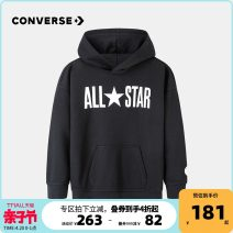 Sweater / sweater Converse / converse Positive black male 105cm 110cm 120cm 130cm 140cm 150cm 160cm 165cm spring and autumn No detachable cap other Brand logo Other 100% Spring 2021