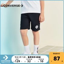 trousers Converse / converse male spring and autumn Pant leisure time There are models in the real shooting Sports pants middle-waisted cotton Cotton 100% Summer 2021