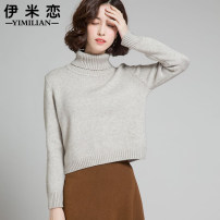 sweater Winter 2016 MLXLXXLS Grey, red, beige, brown, white, pink, black Long sleeve Short paragraph Sleeve Thicken Single Boss conventional Straight Commuting YML6065 Pure color Conventional wool Warm and heat Love, 25-29 years old 100% other Thread Pure electricity supplier (only online sales)
