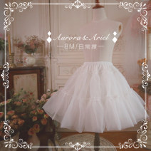 Lolita / soft girl / dress AA meow independent design White, black goods in stock