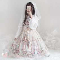 Dress Spring of 2019 Light green dress, apricot dress S,L Sweet Lolita