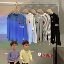 T-shirt Chen Chen's mother 80, 90, 100, 110, 120, 130, 140 male spring and autumn Long sleeves Crew neck leisure time There are models in the real shooting nothing other Cartoon animation Other 100% ZB2125 12 months, 9 months, 18 months, 2 years old, 3 years old, 4 years old, 5 years old, 6 years old