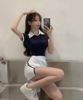 skirt Summer 2021 Average size, s, M Skirt, top Short skirt commute High waist skirt Solid color Type A 18-24 years old 51% (inclusive) - 70% (inclusive) Other / other Korean version