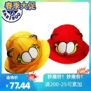 Hat cotton Basin cap / fisherman's hat currency leisure time dome Wide eaves Cartoon Travel Hemming CAT