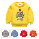 Sweater / sweater Other / other Sky blue, blue, pink, dark gray, green, yellow, red, orange, color blue neutral 90cm,100cm,110cm,120cm,130cm winter nothing Korean version Socket thickening No model Pure cotton (100% cotton content) other Qm1136 Plush sweater Wangwang team Class B Cotton liner