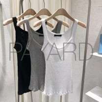 T-shirt Gray, black, white One size fits all chest 54-80 length 58 Summer of 2019 Sleeveless other Regular commute other 30% and below Korean version PA062101