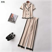 Fashion suit Summer 2020 [S], [M], [XL] [apricot] Other / other 31% (inclusive) - 50% (inclusive)