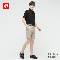 Polo shirt UNIQLO / UNIQLO other routine 00 white 09 black 61 water blue 69 Navy 160/76A/XS 165/84A/S 170/92A/M 175/100A/L 180/108B/XL 185/112C/XXL 185/120C/XXXL 185/128C/XXXXL standard Other leisure UQ436181000 Cotton 51% polyamide fiber (nylon) 49% Summer 2021