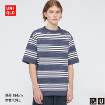 T-shirt other routine 160/76A/XS 165/84A/S 170/92A/M 175/100A/L 180/108B/XL 185/112C/XXL UNIQLO / UNIQLO Short sleeve other standard Other leisure summer Cotton 100% Summer 2021 Same model in shopping mall (sold online and offline)