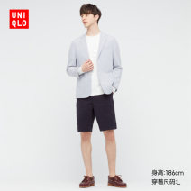 Casual pants UNIQLO / UNIQLO other 160/64A/XS 165/72A/S 170/80A/M 175/88A/L 180/96B/XL 185/104C/XXL 185/112C/XXXL 185/120C/XXXXL Shorts (up to knee) Other leisure Self cultivation summer 2021 Cotton 100% Summer 2021 Same model in shopping mall (sold online and offline)