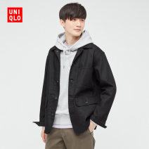 Jacket UNIQLO / UNIQLO other 09 black 160/76A/XS 165/84A/S 170/92A/M 175/100A/L 180/108B/XL 185/112C/XXL 185/120C/XXXL 185/128C/XXXXL standard Other leisure spring UQ442166000 Cotton 81% polyester 17% polyurethane elastic 2% Spring 2021 Same model in shopping mall (sold online and offline)
