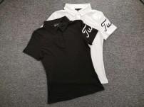 Golf apparel White, black S,M,L,XL female V·AIR t-shirt