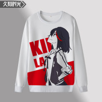 Sweater Youth fashion Long time S M L XL 2XL 3XL 4XL 5XL 6XL character Socket Thin money Crew neck Autumn and winter Straight cylinder daily teenagers tide routine Polyester 92% polyurethane elastic fiber (spandex) 8% printing No iron treatment Autumn of 2019 Pure e-commerce (online only)
