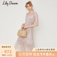 Dress Autumn of 2019 01 longuette 25-29 years old Lily Brown More than 95% other Other 100% Same model in shopping mall (sold online and offline)