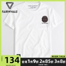 T-shirt Youth fashion White Black Red 1 routine 165/S 170/M 175/L 180/XL 185/XXL 190/XXXL Mark Fairwhale / mark Warfield Short sleeve Crew neck standard daily summer 719301027500-213 Cotton 100% youth routine tide other Summer of 2019 other Embroidered logo cotton other other Fashion brand