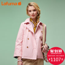 Outdoor sports windbreaker Lafuma / Lafuma LFJA7AC71 two thousand one hundred and ninety-nine female Over 2000 yuan Navy N3 light pink P1 160/80A(36)165/84A(38)170/88A(40)175/92A(42) Spring and Autumn Waterproof and windproof Spring 2017 routine nylon WindStopper yes